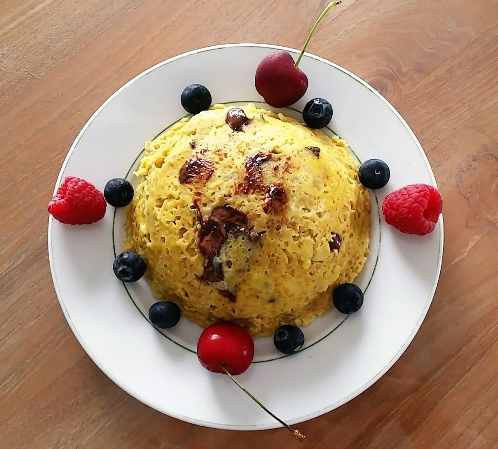 bowlcake fruits rouges