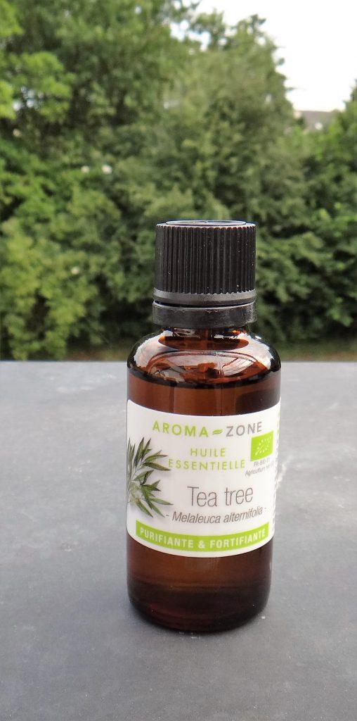 Huile essentielle de tea tree (arbre à thé) bio
