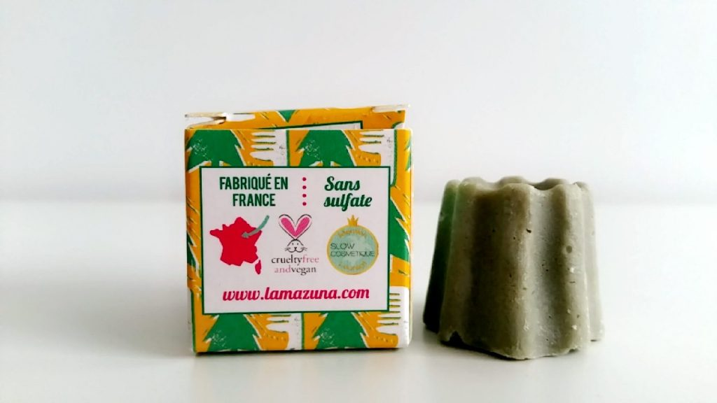 shampoing solide cheveux normaux pin sylvestre lamazuna vegan