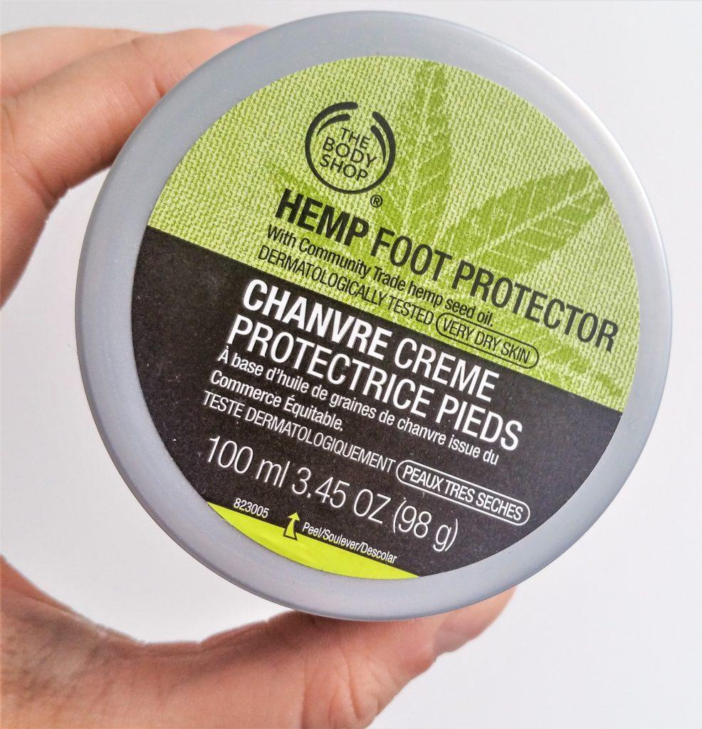 Crème protectrice pour les pieds au chanvre - The Body Shop