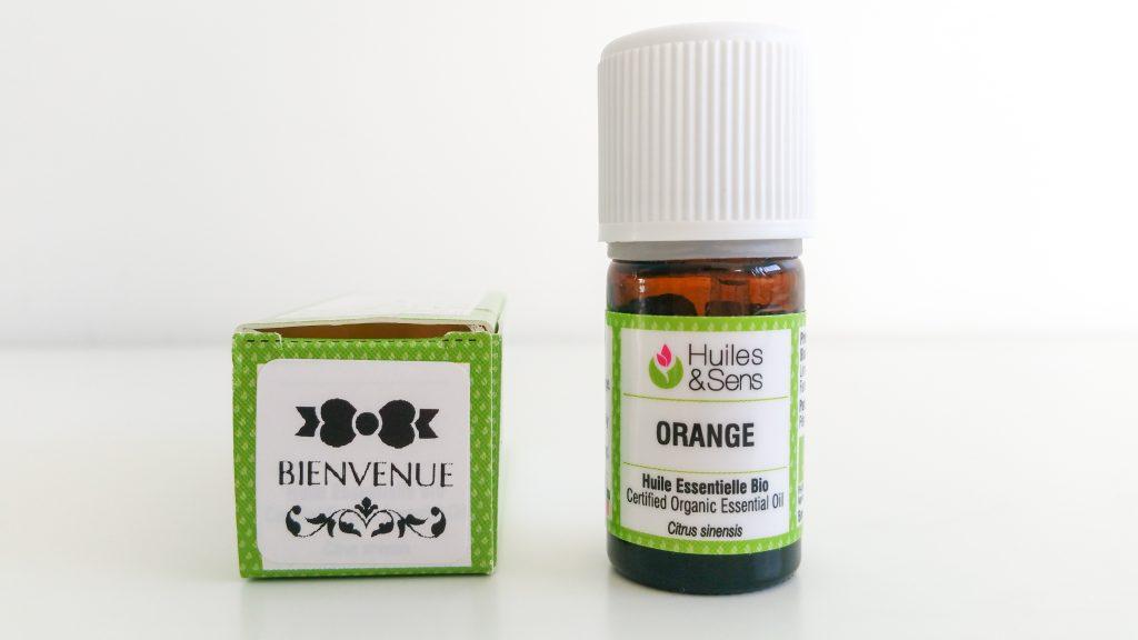 Huile essentielle d'Orange Huiles & Sens