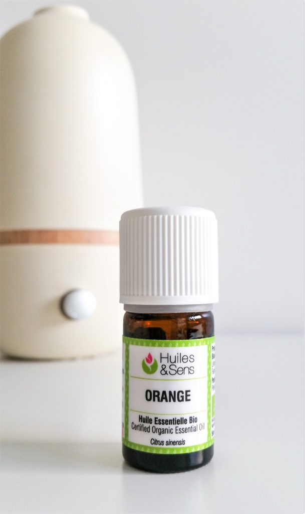Huile essentielle d'Orange Huiles & Sens Diffusion