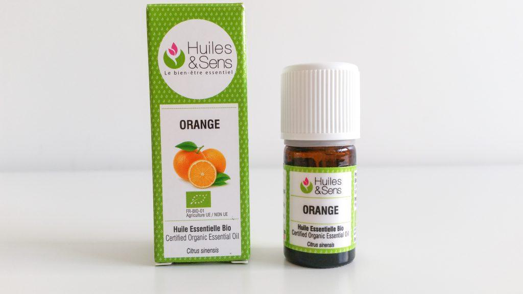 Huile essentielle d'Orange marque Huiles & Sens