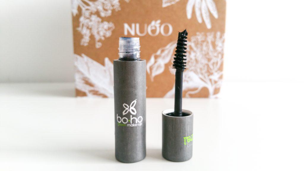 La box de janvier NuooBox Boho green mascara naturel