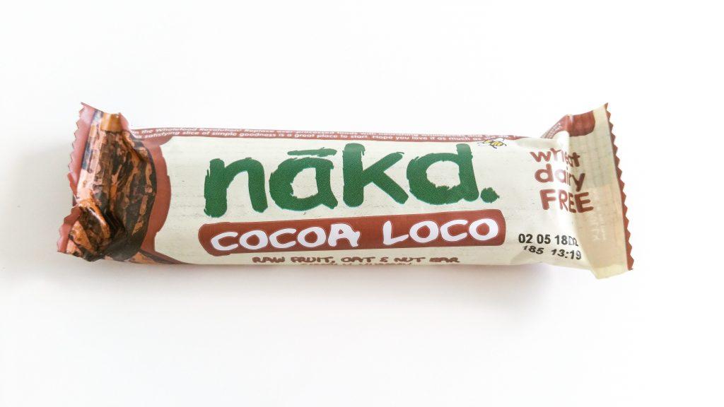 La box de janvier NuooBox Nakd bare avoine cocoa loco