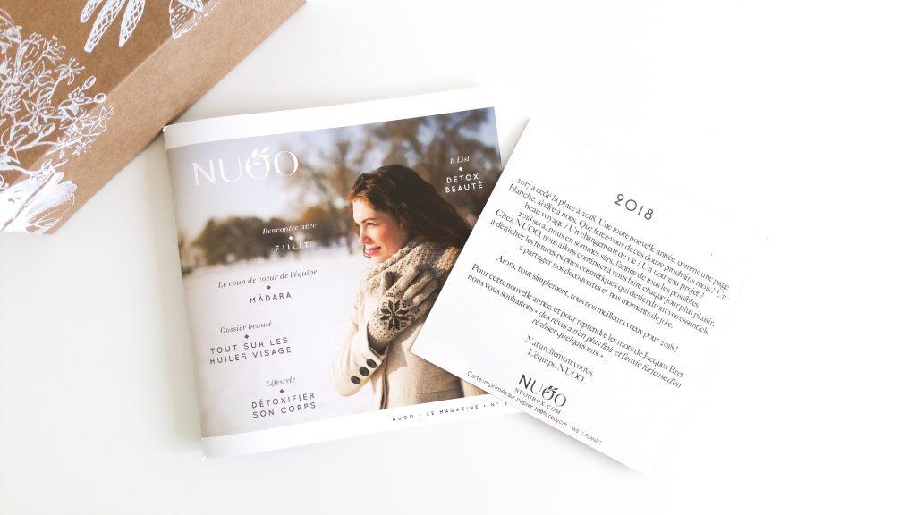 La box de janvier NuooBox magazine