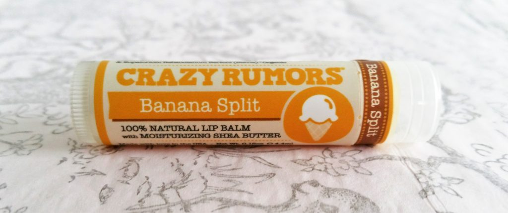 Ma première commande sur Precious Life crazy rumors banana split