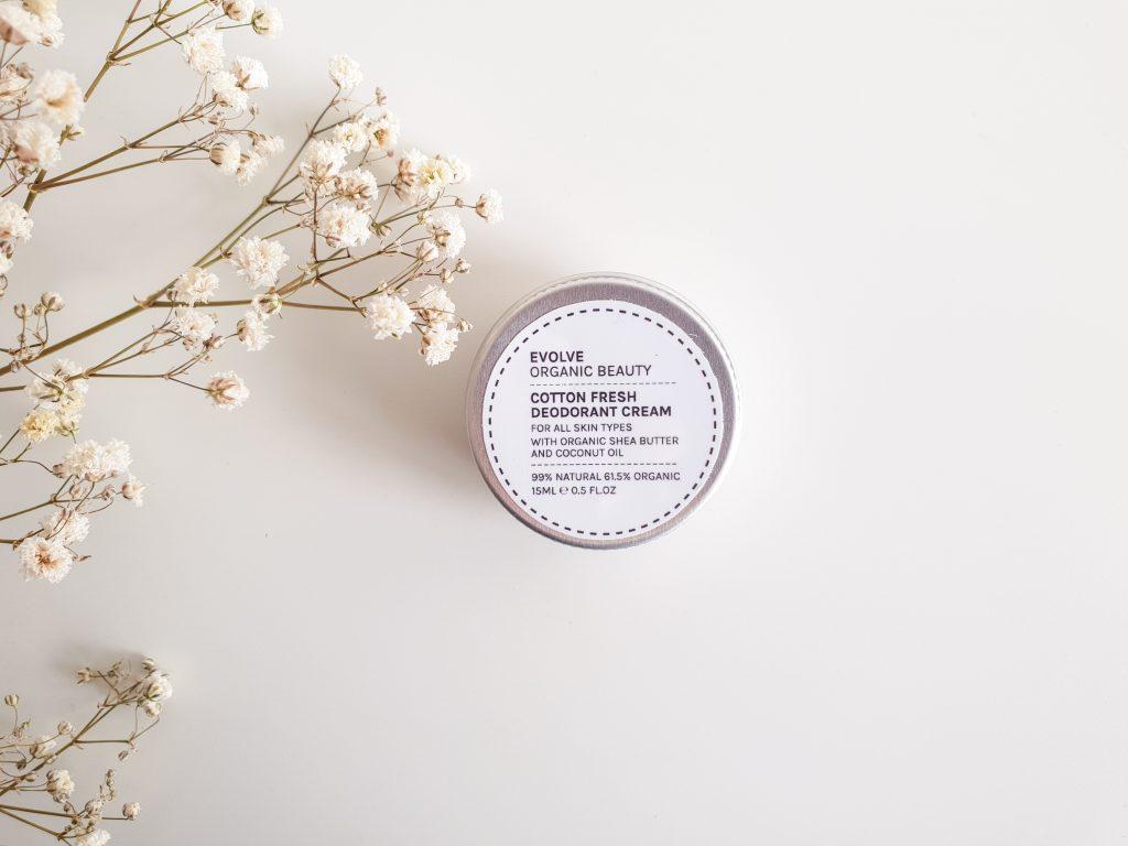 Happy morning (Nuoo Box – Mars 2018) EVOLVE BEAUTY – Déodorant crème Cotton Fresh