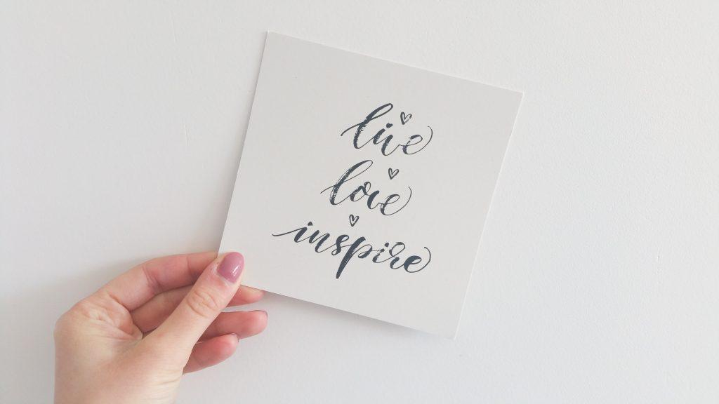 Nuoo Box février 2018 Live Love Inspire