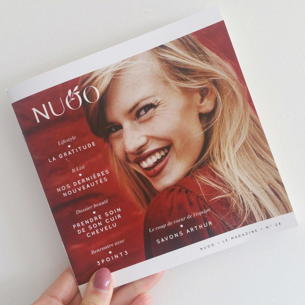 Nuoo Box février 2018 magazine