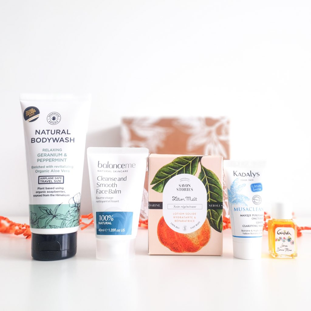 Flower power (Nuoo Box – Avril 2018) Cosmétiques