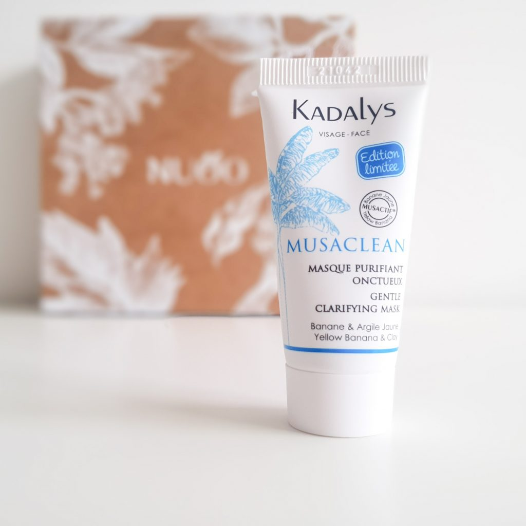Flower power (Nuoo Box – Avril 2018) KADALYS – Musaclean Masque purifiant onctueux