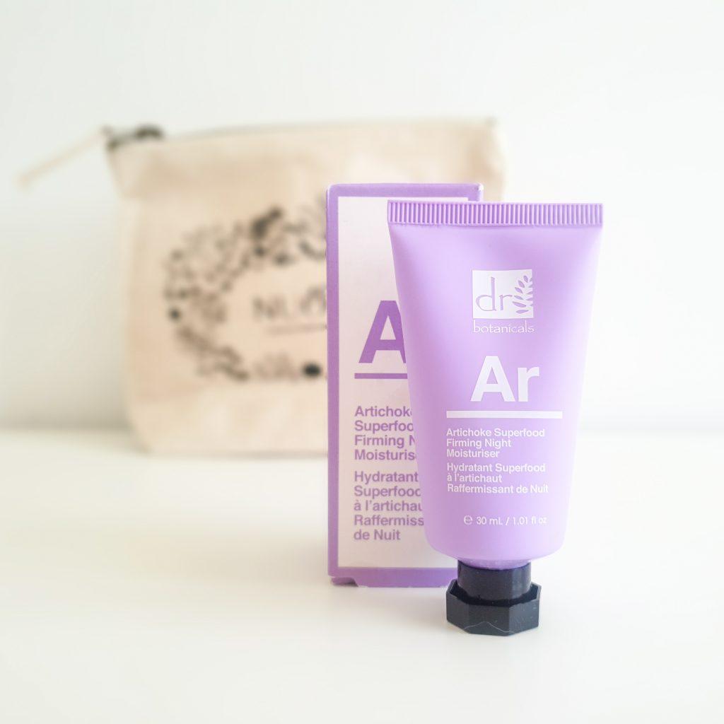 Secrets de beauté (Nuoo Box – Mai 2018) DR BOTANICALS – Hydratant superfood à l'artichaut