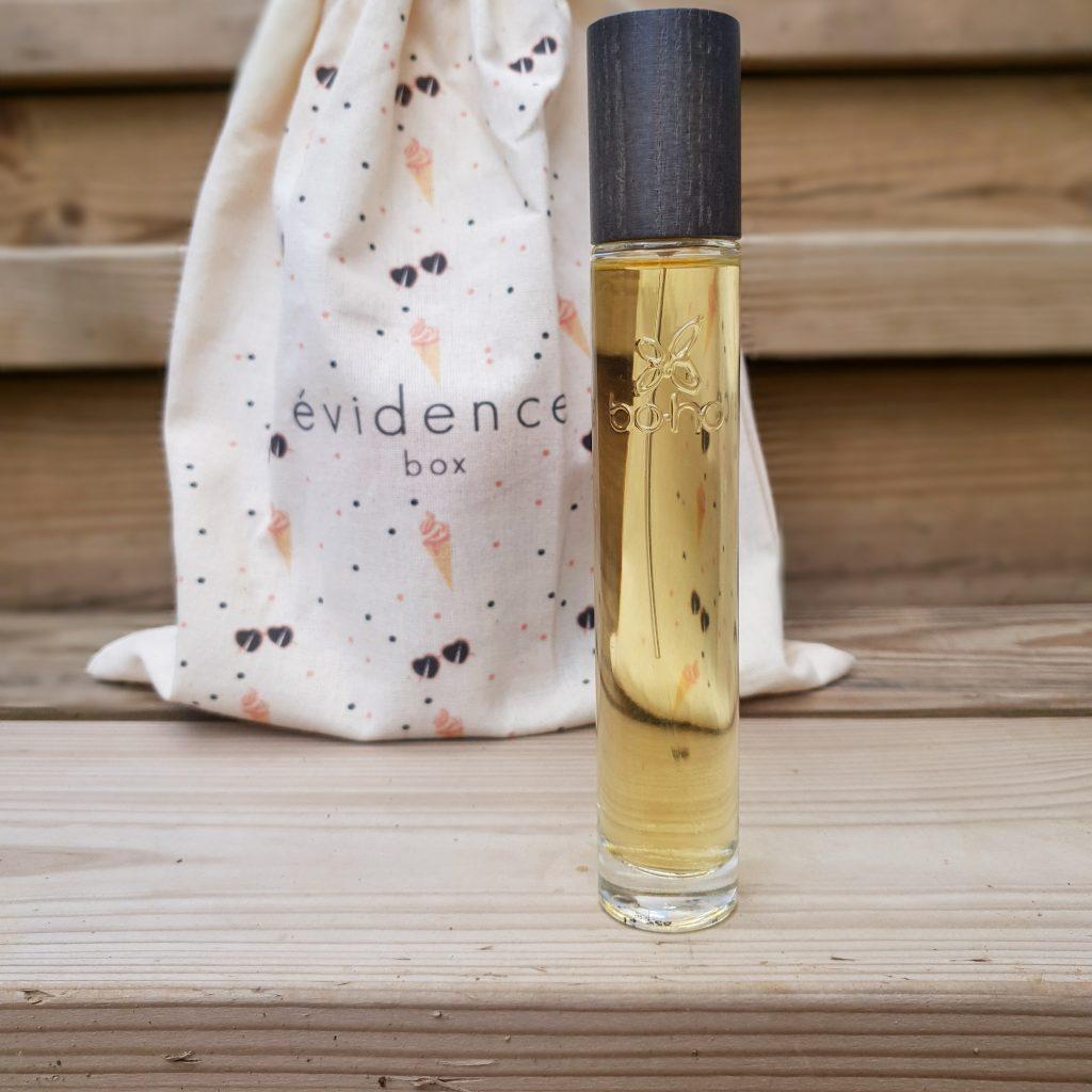 Glaces et Sunglasses [Box évidence – Juin 2018] BOHO GREEN MAKE-UP – Parfum naturel «Corsica»