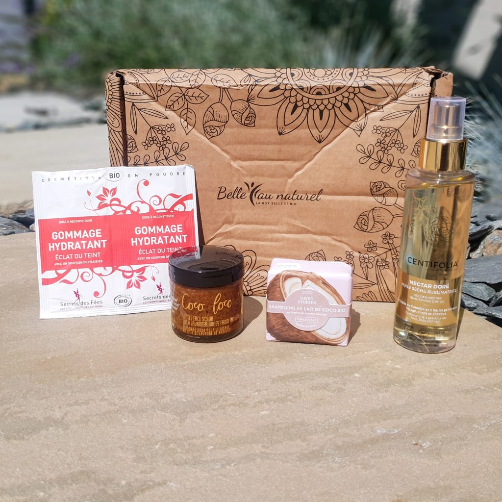 Évasion estivale [Belle au naturel – Août 2018] 4 produits