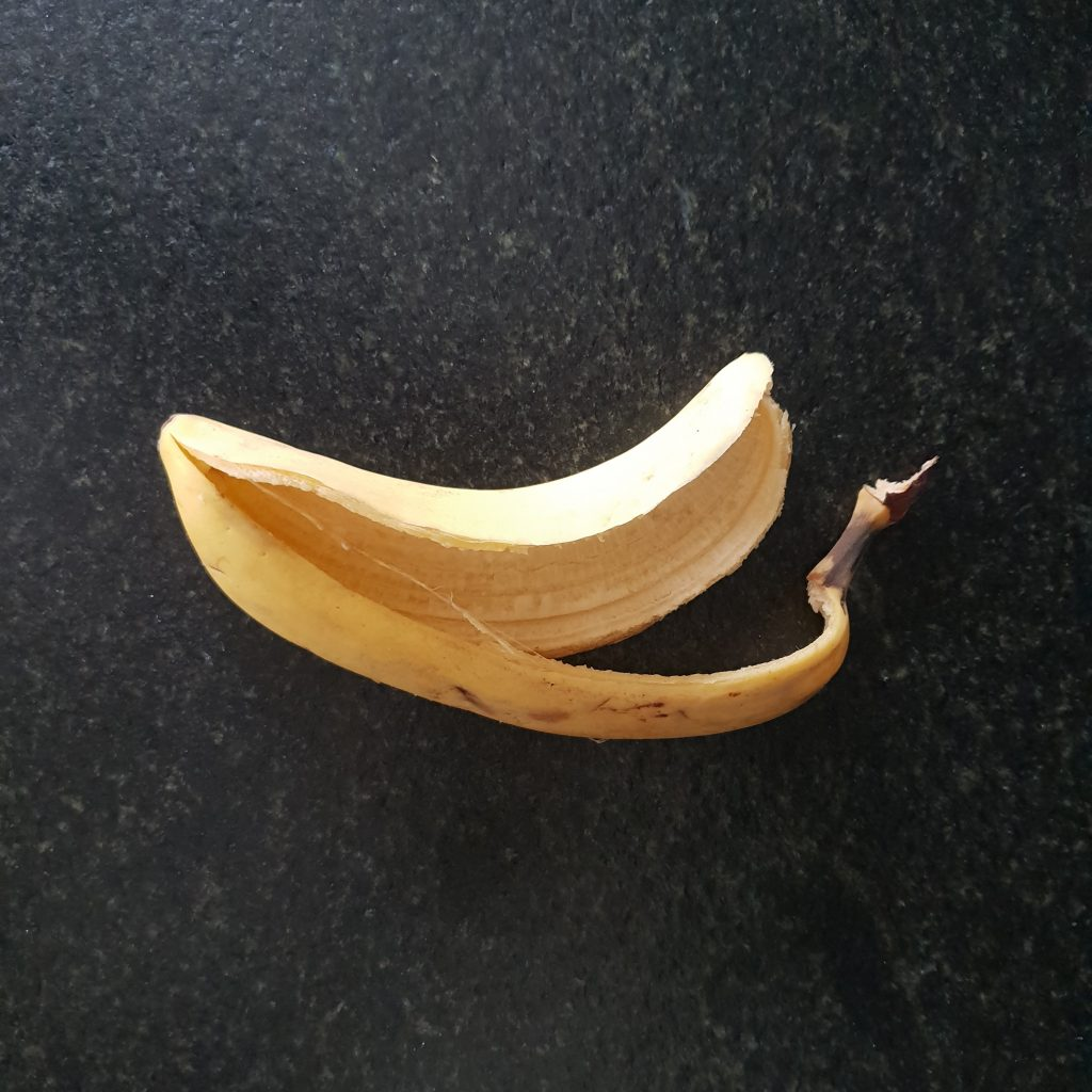 La peau de banane contre l'acné efficace photo