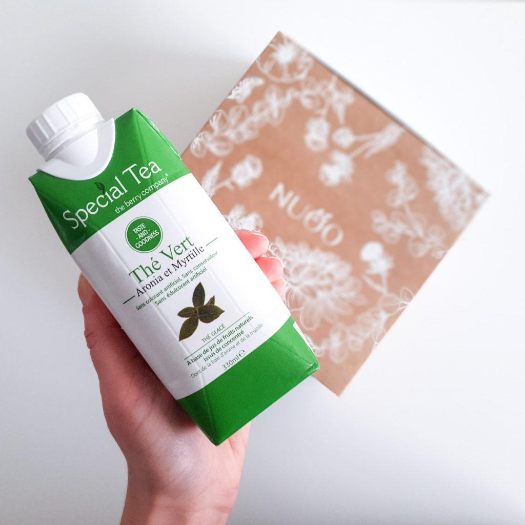 Botanique [Nuoo Box – Janvier 2019] THE BERRY COMPANY – Thé vert Myrtille et Aronia