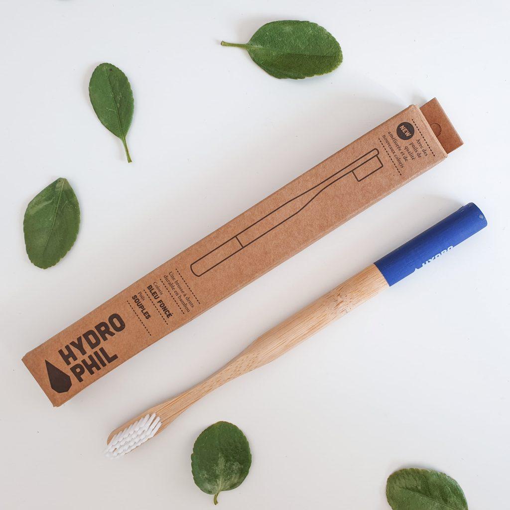 Essentielle [Nuoo Box – Février 2019] HYDROPHIL – Brosse à dents en bambou
