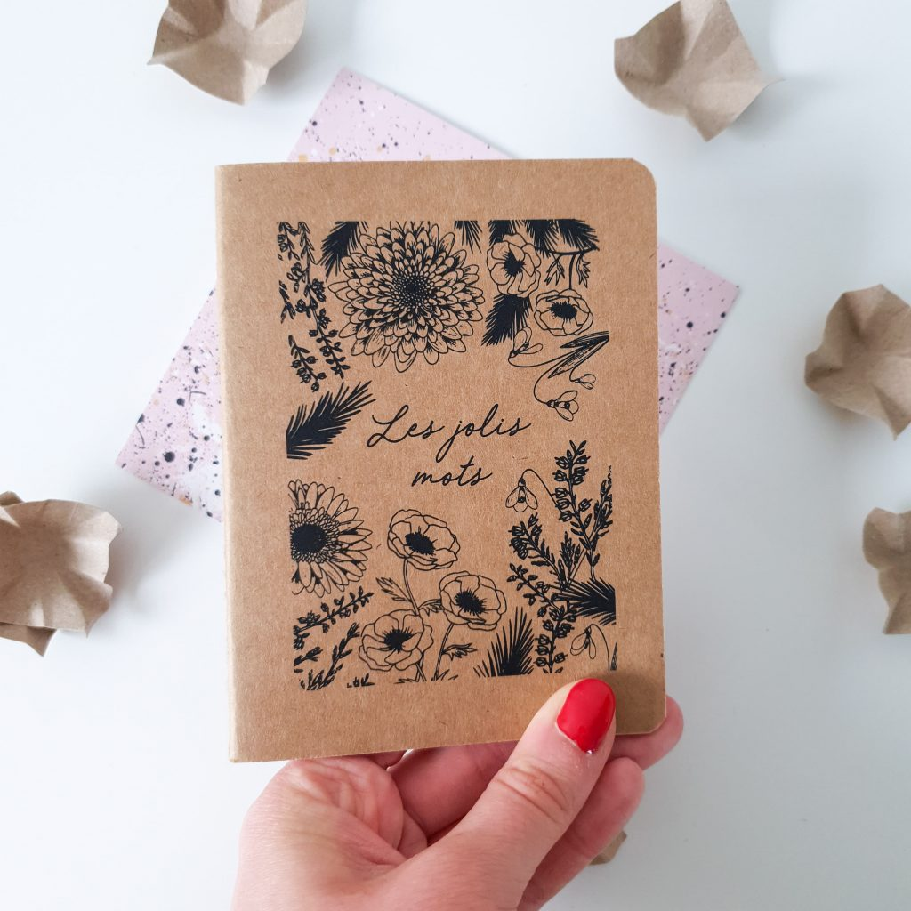 Cool girl [Nuoo Box – Mars 2019] Nuoo Box – Carnet «Les jolis mots»