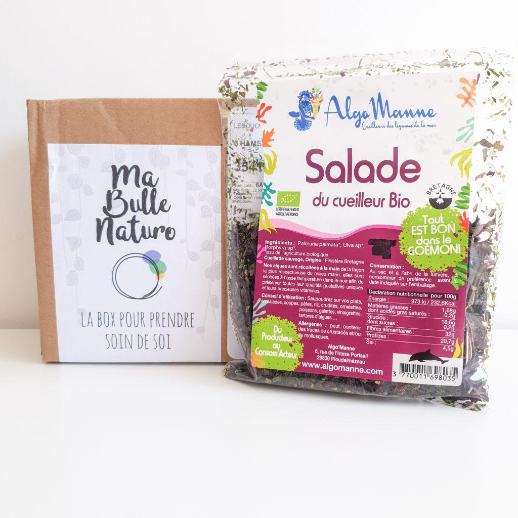 Activer mes supers pouvoirs [Ma Bulle Naturo – Mars Avril 2019] ALGOMANNE - Salade du cueilleur bio