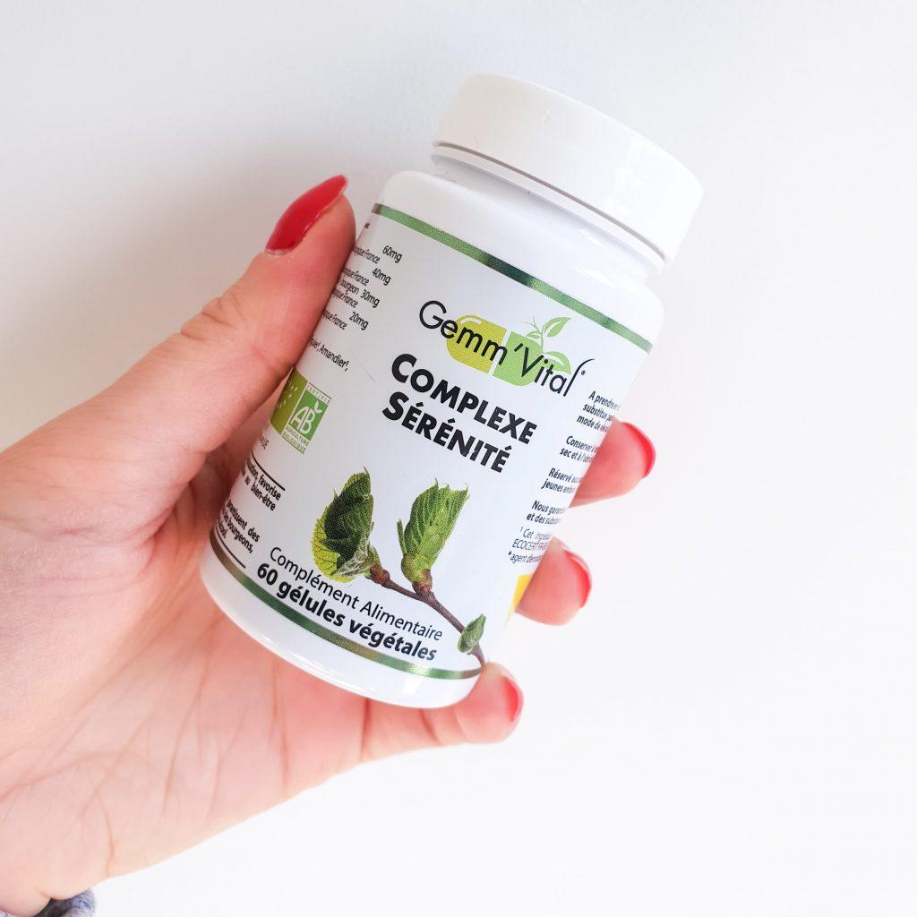 Gemm' Vital Complexe sérénité packaging