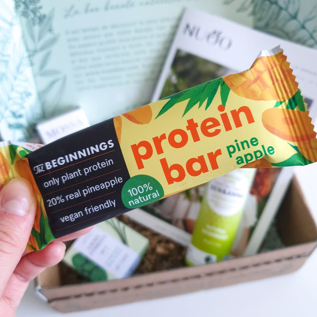 Body and Mind [Nuoo Box – Mai 2019] THE BEGINNINGS – Protein bar
