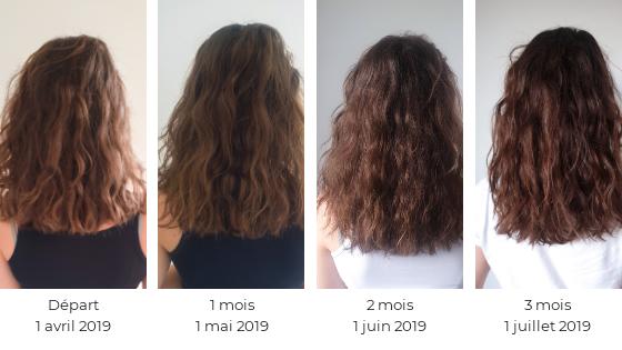 Le complément alimentaire Good Hair Vitamines boost de Lashilé Beauty Evolution de la pousse de mes cheveux en 3 mois