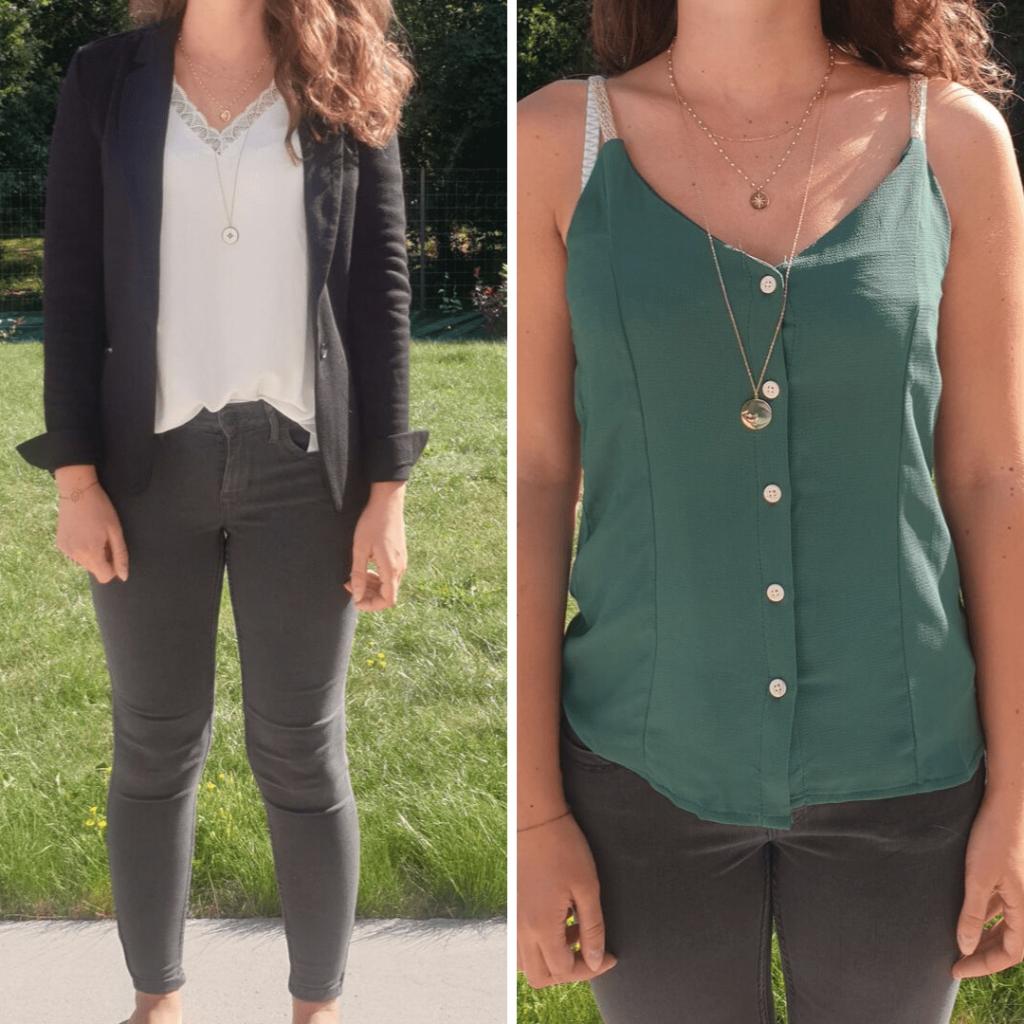 Ma première box Clic and Fit mon avis sur cette box de vêtements (+ code promo) Les 2 tenues