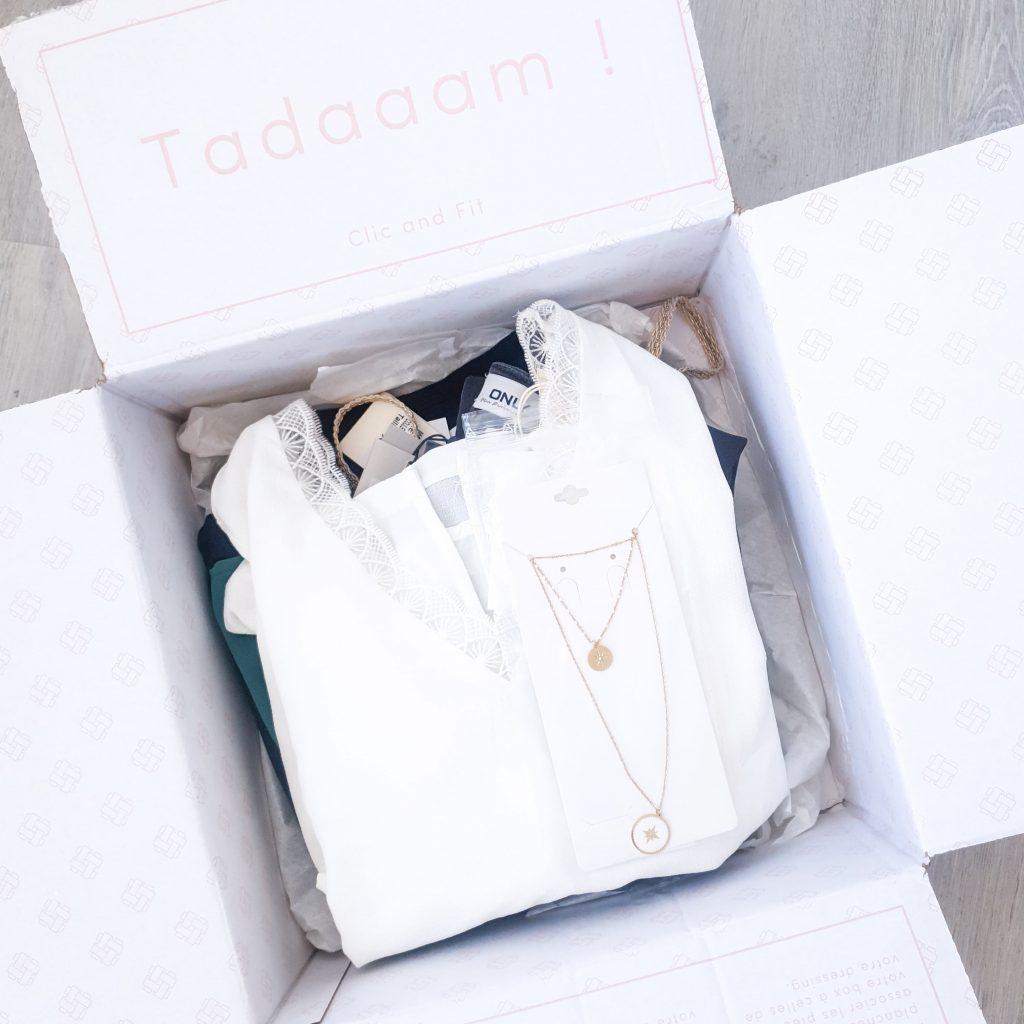 Ma première box Clic and Fit mon avis sur cette box de vêtements (+ code promo) Photo des produits