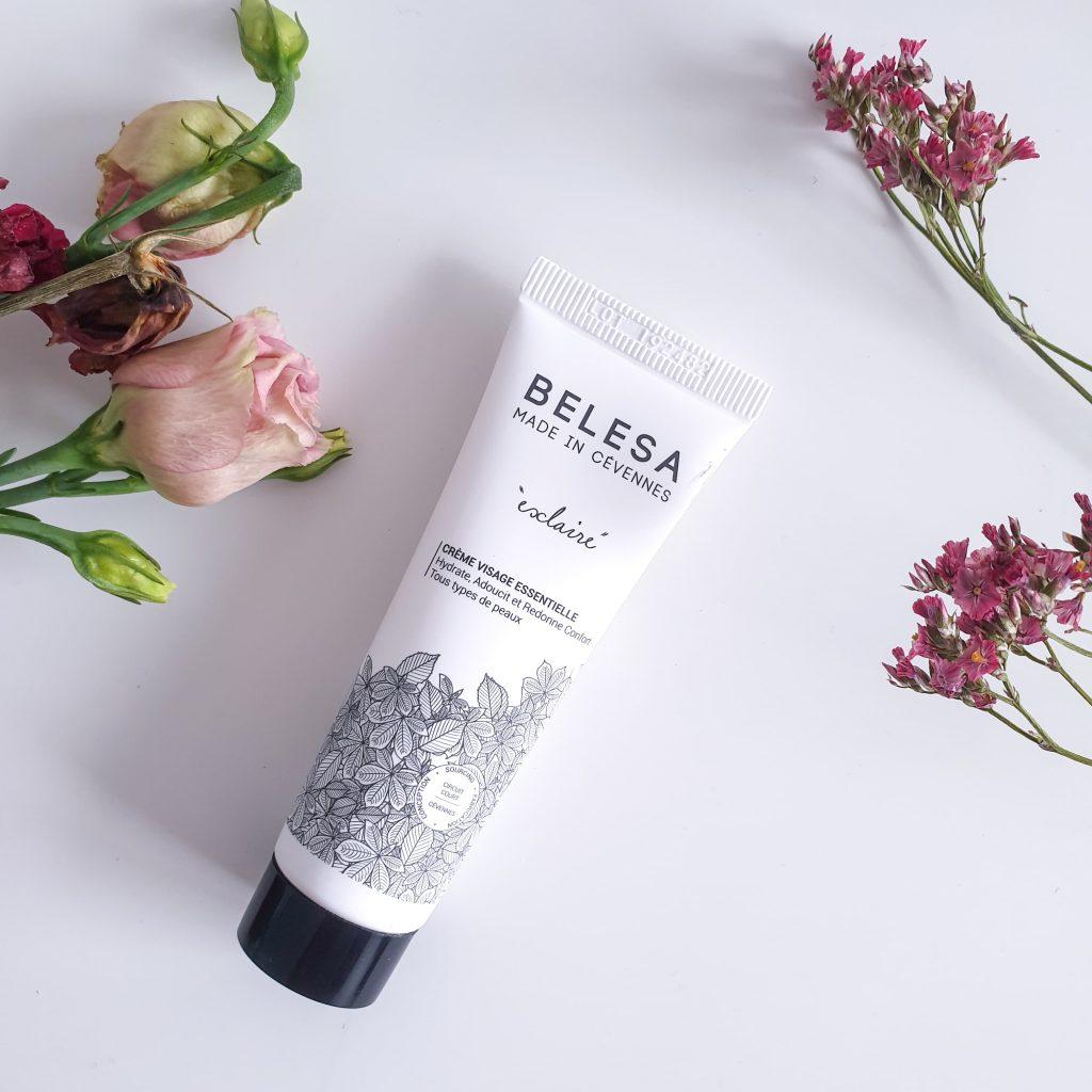 Fall in love [Nuoo Box – Octobre 2019] BELESA – Crème visage essentielle Esclaire