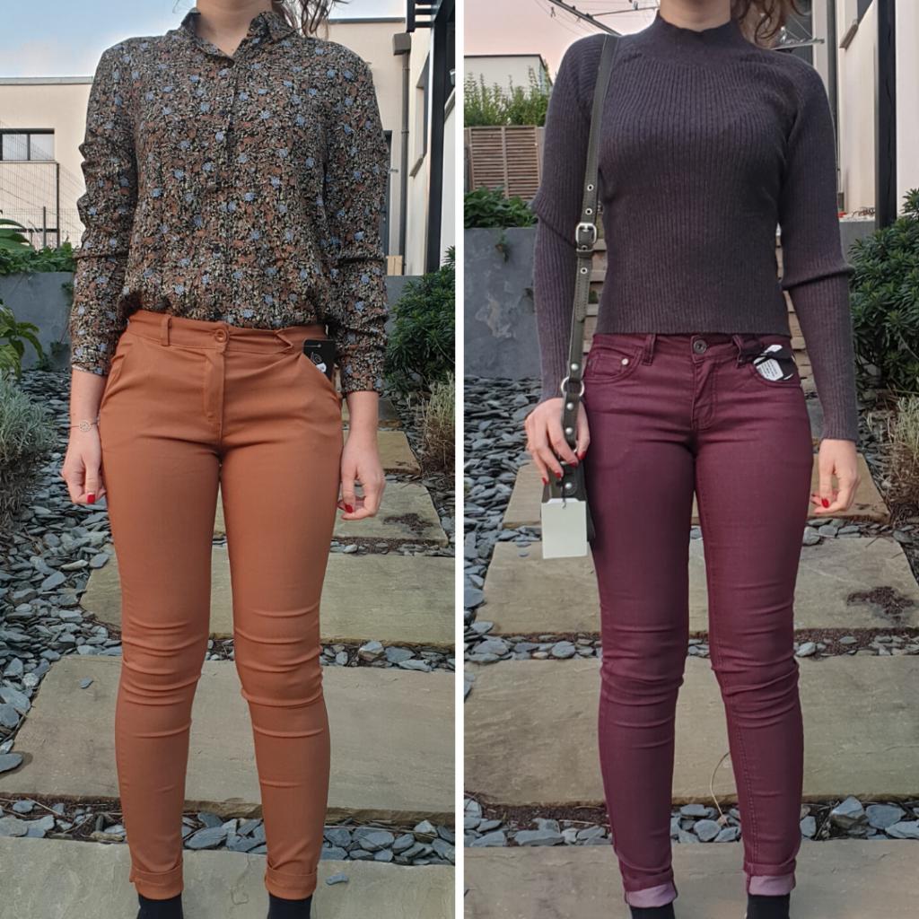 Seconde box Lookiero novembre 2019 Tenue 1 chemise et chino - Tenue 2 pull gros et jean bordeaux