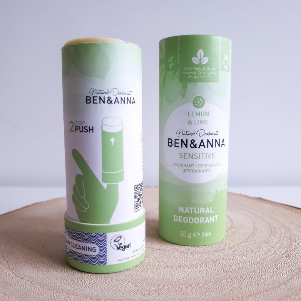 L'acidulée [Nuoo Box - Février 2020] BEN & ANNA - Déodorant sensitive Lemon & lime
