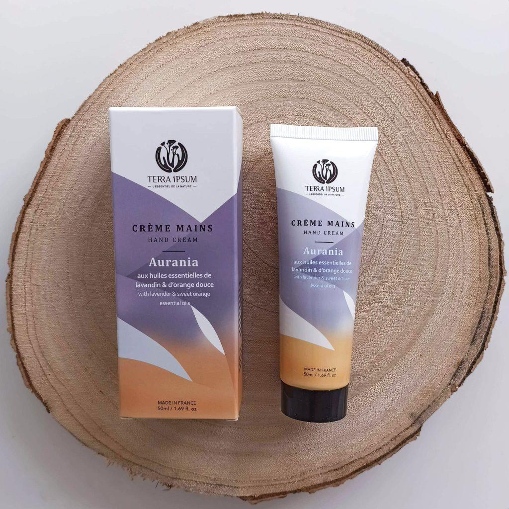 Naturo-box-douceur-hiverTERRA-IPSUM-Crème-mains-Aurania-cruelty-free-slow-cosmetique
