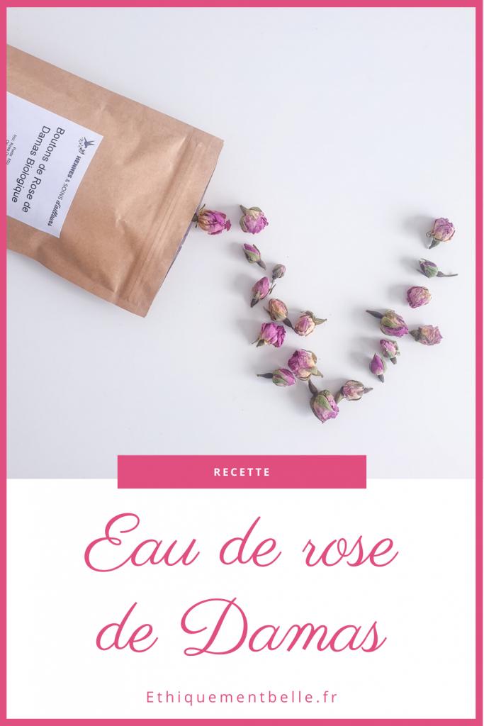 Pinterest Recette eau de rose de damas maison
