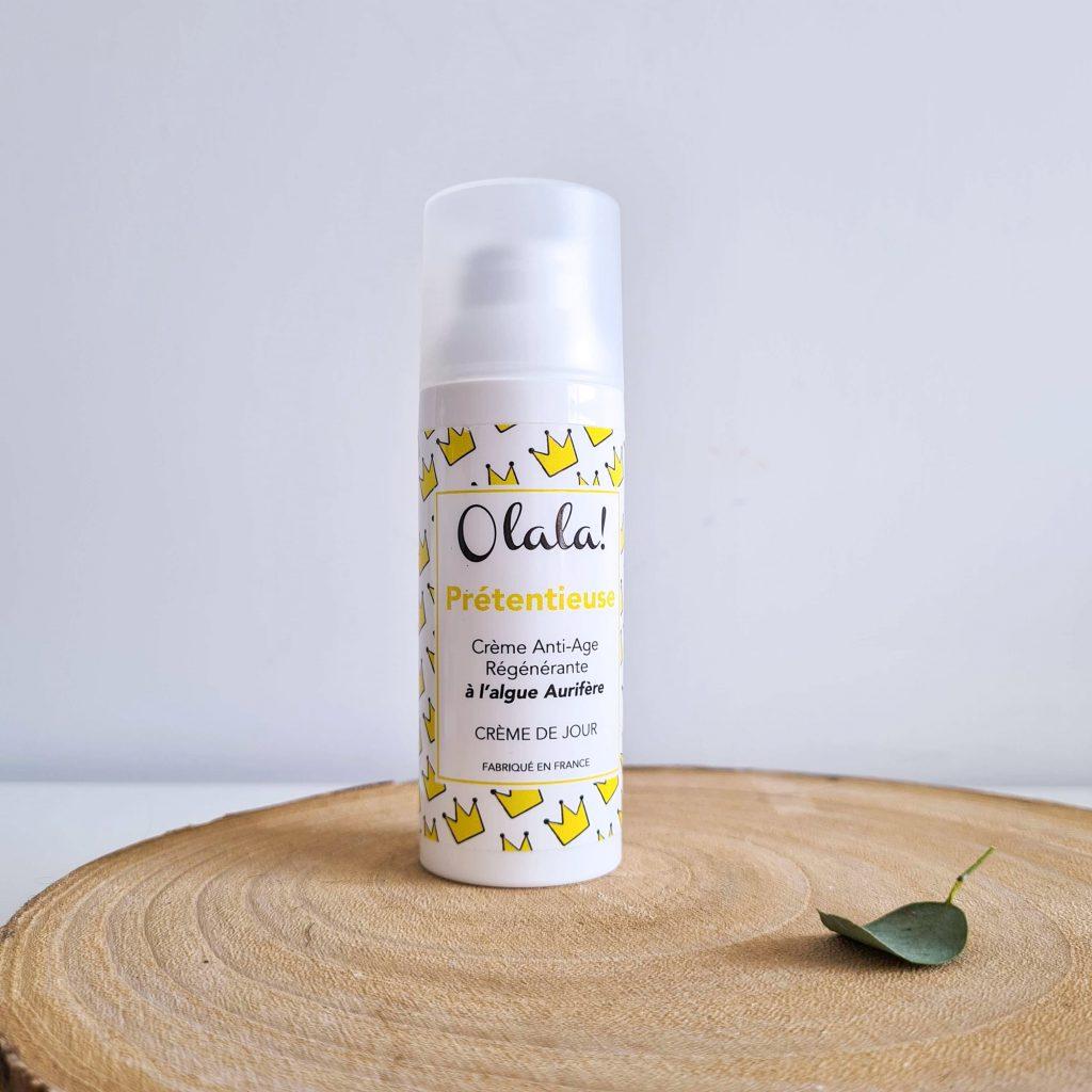 Belle au naturel OLALA COSMETICS Crème anti-âge régénérante Prétentieuse