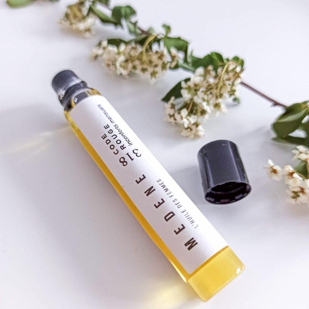 roll-on huiles essentielles et végétales Code rouge de la marque Medene