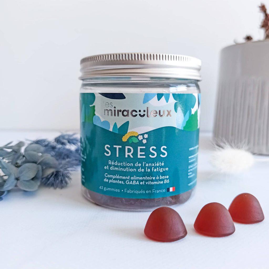 Complément alimentaire Stress de la marque Les Miraculeux